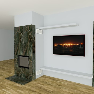 moderner kamin c 03 4 mit spartherm mit montage www. Black Bedroom Furniture Sets. Home Design Ideas