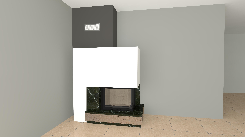 eckiger kamin wasserf hrend wa42 3 mit montage www. Black Bedroom Furniture Sets. Home Design Ideas