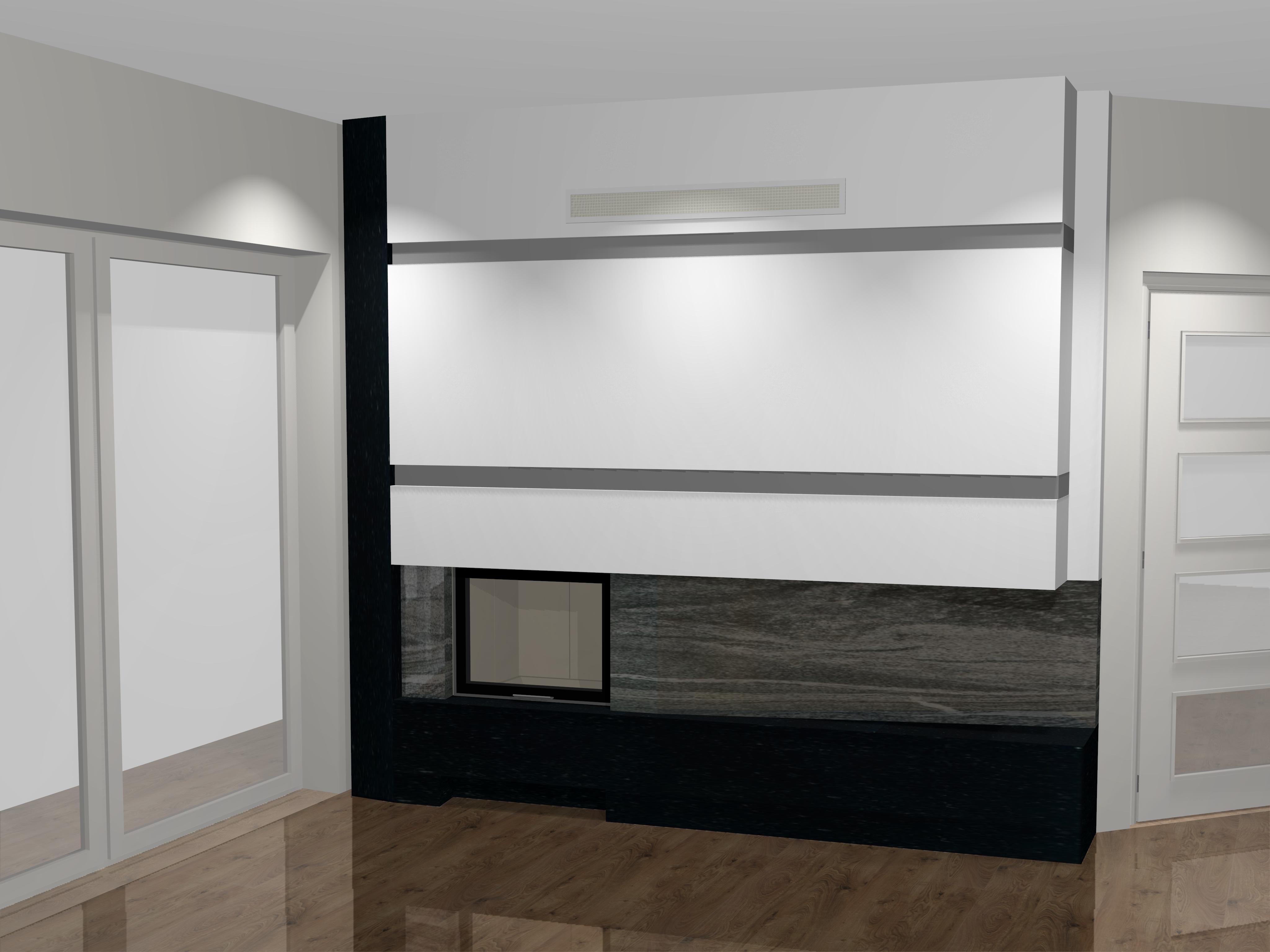 moderner kamin c 16 1 mit spartherm mit montage www. Black Bedroom Furniture Sets. Home Design Ideas