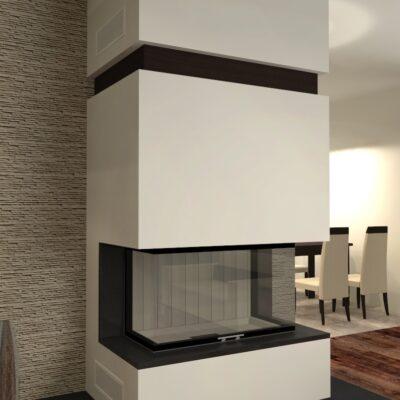 moderne kamine. Black Bedroom Furniture Sets. Home Design Ideas
