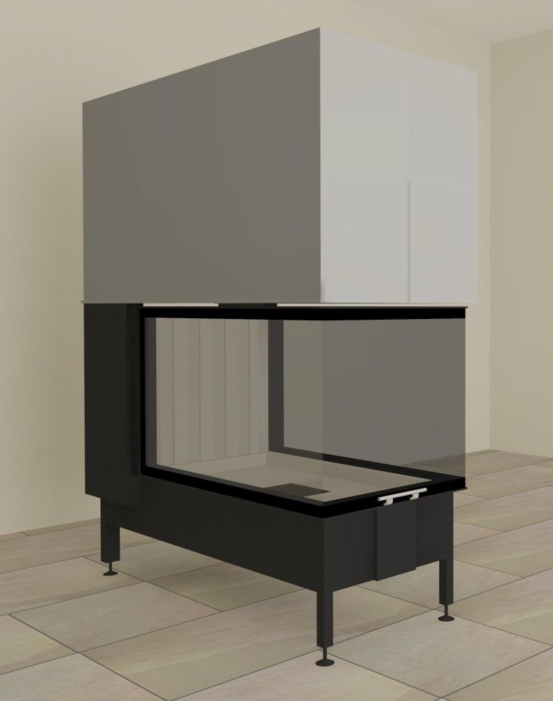 carlo milano bio ethanol kamineinsatz aus edelstahl. Black Bedroom Furniture Sets. Home Design Ideas