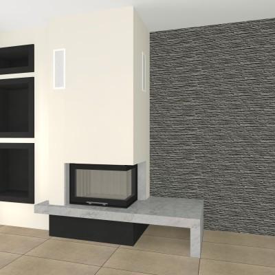 eckige kamine seite 5. Black Bedroom Furniture Sets. Home Design Ideas
