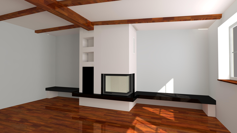 eckiger kamin wasserf hrend wa28 4 mit montage. Black Bedroom Furniture Sets. Home Design Ideas