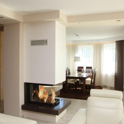 brunner dreiseitiger systemkamin bsk11 mit montage. Black Bedroom Furniture Sets. Home Design Ideas