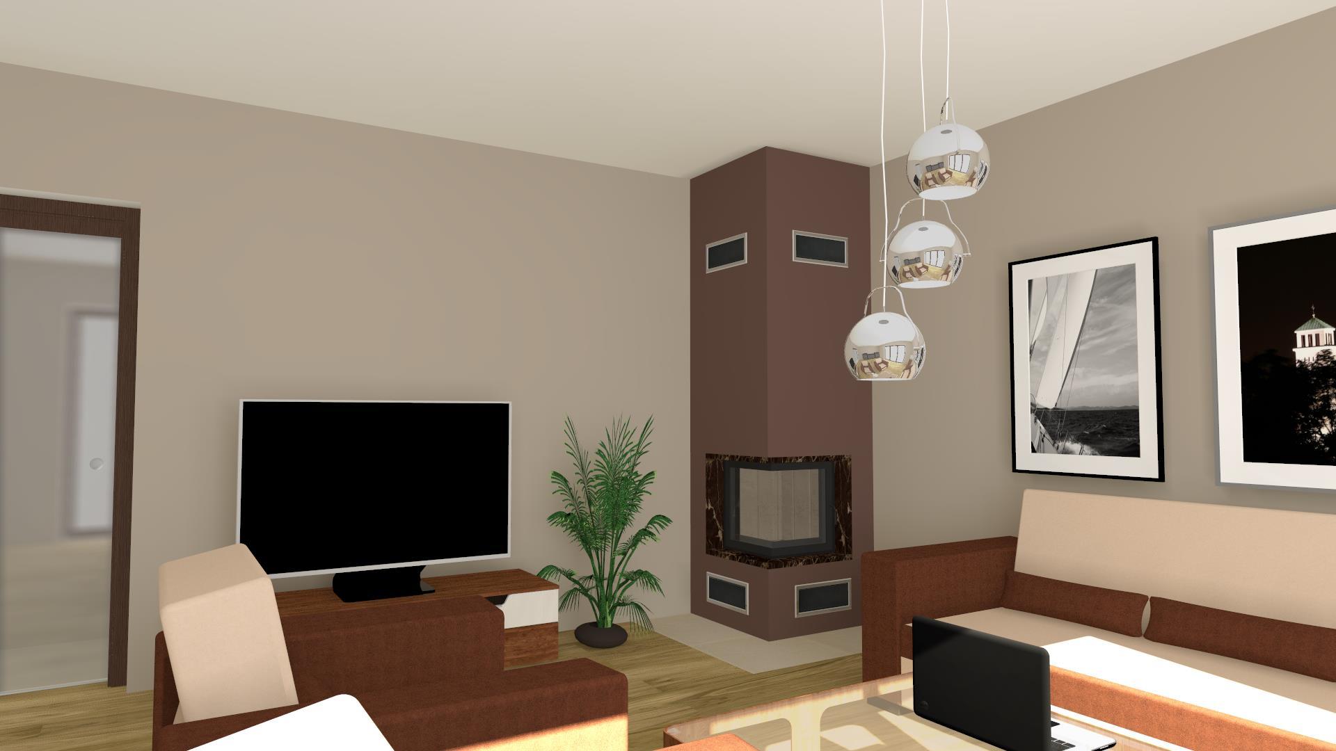 moderner kamin zp5 eck mit spartherm mit montage. Black Bedroom Furniture Sets. Home Design Ideas