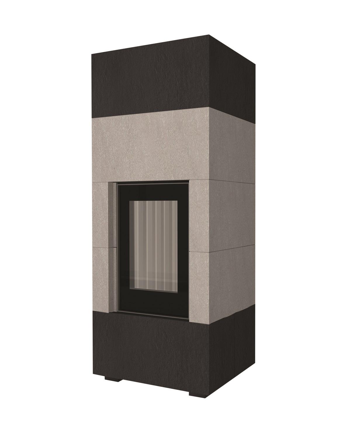 w rmespeichernder systemkamin techniko 6b mit brunner und. Black Bedroom Furniture Sets. Home Design Ideas